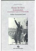 Hasan Ali Yücel Konuşmaları Ulusal Kimlik İnşası ve Politik Retorik
