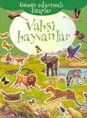 Gümüş Çıkartmalı Kitaplar Vahşi Hayvanlar