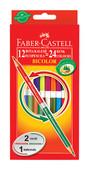 Faber-Castell Bicolor Boya Kalemi 24 Renk 120612