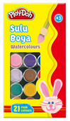 Play-Doh 21 Renk Sulu Boya PLAY-SU004