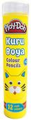 Play-Doh 12 Renk Kuru Boya Tüp PLAY-KU005