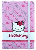 Hello Kitty Lastikli Defter 14x21 Çizgili Hk8000-Ç