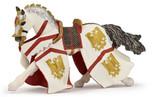 Papo Kartal Şövalyenin Atı Kırmızı Beyaz P39334