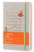 Moleskine 2017 12Aylık Le Petit Prince Günlük Ajanda Açık Gri L 13x21