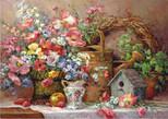 Anatolian Potpori / Garden Madlay 1500 Parça Puzzle - 4502