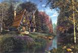 Anatolian Masal Evi / Fairytale Cottage 2000 Parça Puzzle - 3922