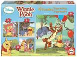 Educa Puzzle Çocuk 6+9+12+16 Progressive Winnie Pooh