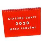 Atatürk Vakfi 2018 Masa Takvimi