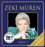 Zeki Müren Arşiv 1 5 CD BOX SET
