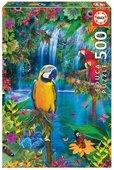 Educa Puzzle Bird Tropical Land 15512 500'Lük