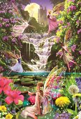 Educa Puzzle Waterfall Fairies 15515 500'Lük