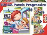 Educa Puzzle 12-16-20-25 Büyüyünce Ne Olmak İstiyorum 15618