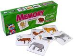 Kırkpabuç Vahşi Hayvanlar - Memory Hafıza Oyunu (Karton) 7203