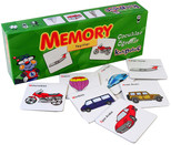 Kırkpabuç Taşıtlar - Memory Hafıza Oyunu (Karton) 7204
