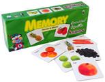 Kırkpabuç Meyveler ve Sebzeler - Memory Hafıza Oyunu (Karton) 7205