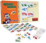 Kırkpabuç Taşıtlar - Aynısını Bulalım Kutu Oyunu (Karton) 7301