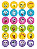 Herma Çocuk Etiketleri Gülen Yüzler 6818
