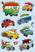 Herma Çocuk Etiketleri Sevimli Taşıt Araçları 6376