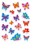 Herma Çocuk Etiketleri Kelebek Taş 6088