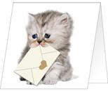 Giller Kedi Özel Gün Kartı