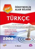 Öğretmenlik Alan Bilgisi - Türkçe