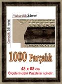 Polistiren Çerçeve (68x48 cm) 106114 1000'lik