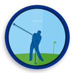 Kikkerland Golf Duvar Saati KIK-CL35-EU