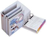 Comix A4 2'Li  25Mm 2 Li D Mekanizmalı Klasör  A0209