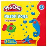 Play-Doh 24 Renk Pastel Boya PLAY-PA004