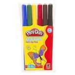 Play-Doh 6 Renk Keçeli Kalem Pvc 2mm PLAY-KE004