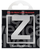 IF 92926 Helvetica Clip-On Bookmarks - Letter Z/Kitap Ayracı