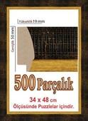 Polistiren Çerçeve 505057 500 Parça Puzzle Çerçevesi 505057