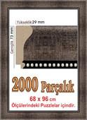 Polistiren 2000 Parça Puzzle Çerçevesi 207808