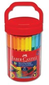 Faber-Castell Eğlenceli Keçeli Kalem, 50 Renk - 5068111550