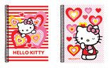 Hello Kitty Spiralli Defter A6 Çizgili HK2011-Ç