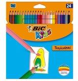 Bic Tropıcolor2 Boya Kalemi Uzun 24'Lü Kutu - 832568