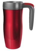 Contigo Autoseal Vacuum İnsulated Stainless Steel Mugs With Handle Randolph Kırmızı/Gri/Kırmızı 1000