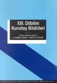13. Dilbilim Kurultay Bildirileri13-15 Mayıs 1999