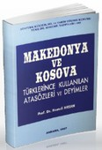Makedonya ve Kosova Türklerince Kullanılan Atasözleri ve Deyimler