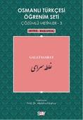 Osmanlı Türkçesi Öğrenim Seti 3 (Seviye Başlangıç) Galatasaray
