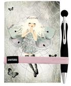 Santoro Gorjuss Mirabelle Kalemli Not Defteri - Miss Butterfly Santoro196Ec6A