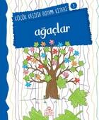 Ağaçlar - Küçük Kaşifin Boyama Kitabı Serisi 9