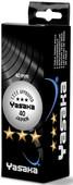 Yasaka 3'lü Beyaz 3 Yıldız Masa Tenis Topu 40 mm