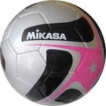 Mikasa Kaynaklı Futbol Topu Pembe-Gri