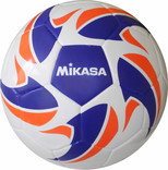 Mikasa Kaynaklı Futbol Topu Mavi Beyaz Renk