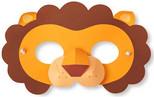 Npw Parti Aksesuarı - Hayvanat Bahçesi Maske Seti W9583
