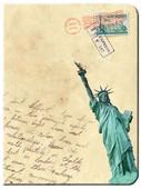 City Post Çizgisiz Defter New York L 64378-3