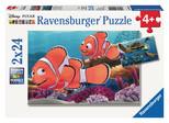 Ravensburger Wd Nemo 2x24 Parça Puzzle 090440