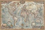 Educa Puzzle Political Map Of The World 1500 Parça 16005