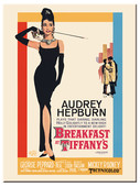 Nostalgic Art Breakfast at Tiffany's Classic Magnet 14180